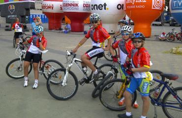 Wyjazd na zawody rowerowe - Zamarski